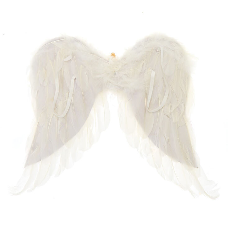 Claire's Club Wings - White,