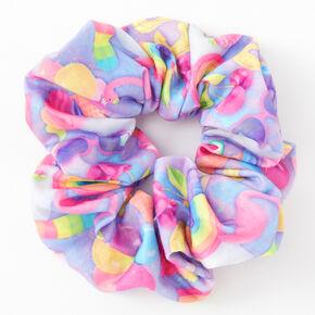 Medium Summer Fruit Hair Scrunchie,
