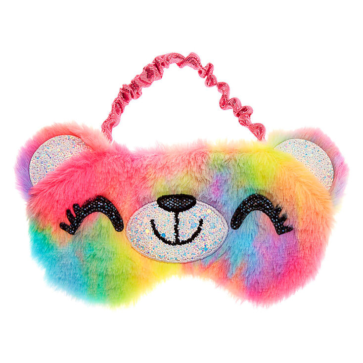Sugar the Bear Tye-Dye Sleeping Mask,