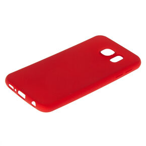 Matte Logo Cut Out Phone Case - Fits Samsung Galaxy S6,
