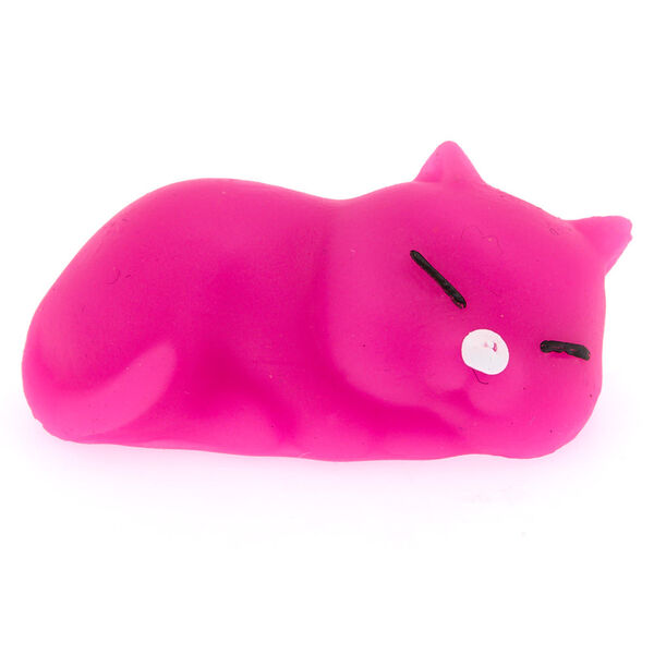 Claire's - sticky gummy cat squish toy - 1
