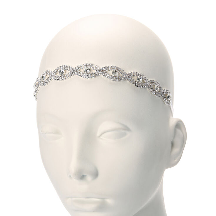 Crystal Evil Eye Headwrap,