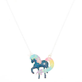 Mood Pastel Unicorn Pendant Necklace,
