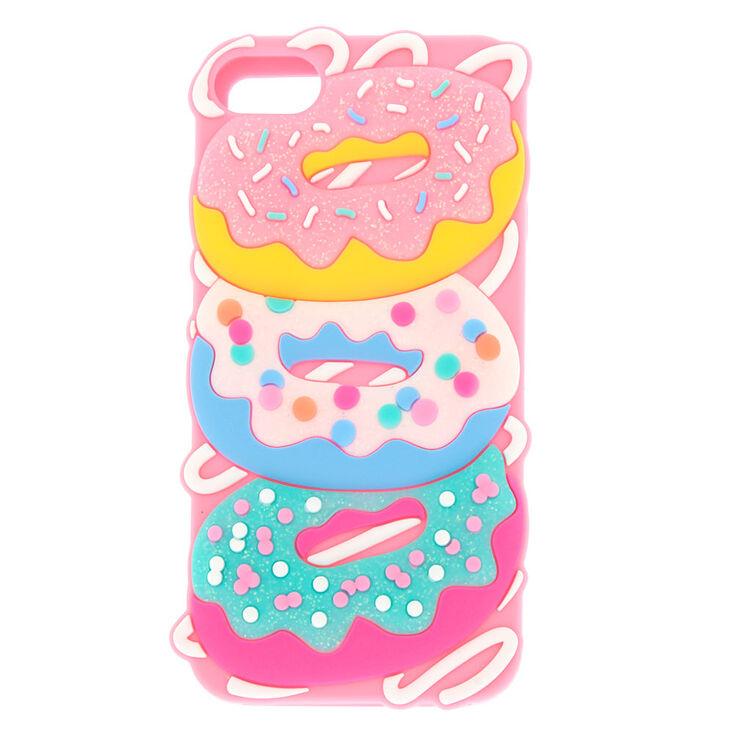 promo code f90df a10d0 Glitter Donut iPod® 5/6 Case - Pink