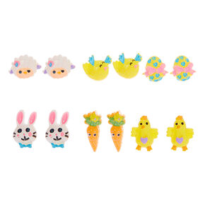 Easter Stud Earrings - 6 Pack,