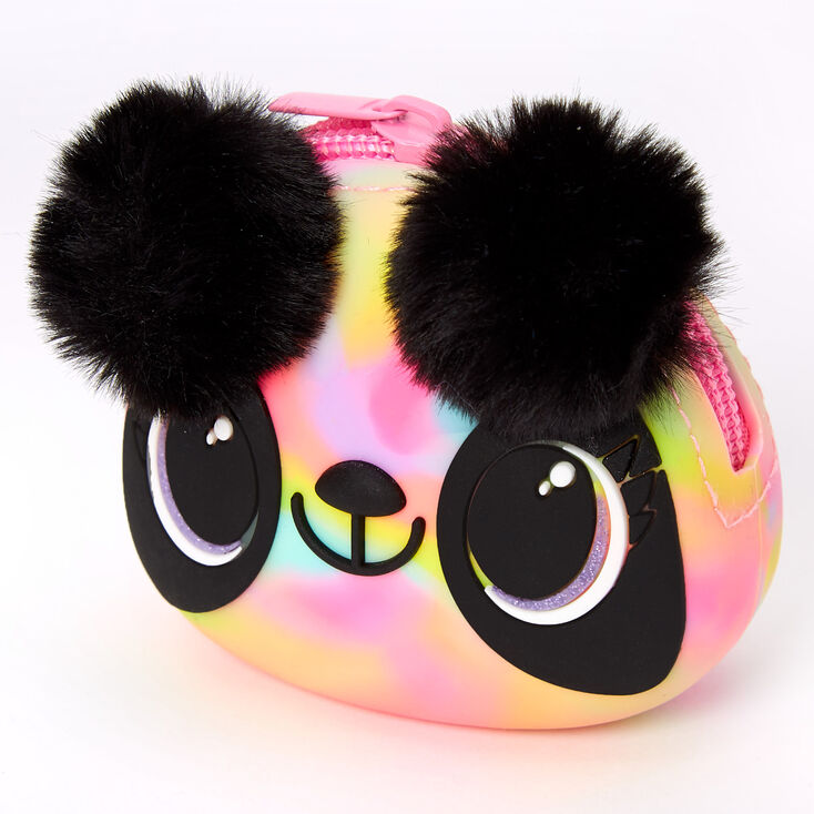 Paige the Panda Rainbow Jelly Coin Purse,