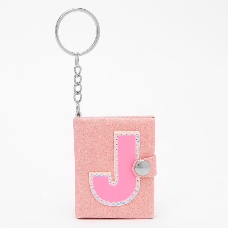 Initial Mini Diary Keychain - J,