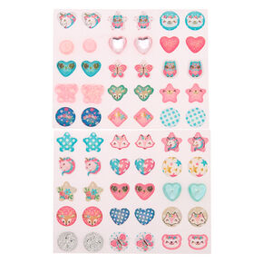 Claire's Club Butterfly Magic Stick On Earrings - 30 Pack,