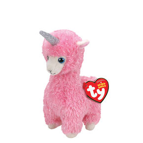 Ty Beanie Boo Small Lana the Llama Unicorn Plush Toy 2965fe29222e