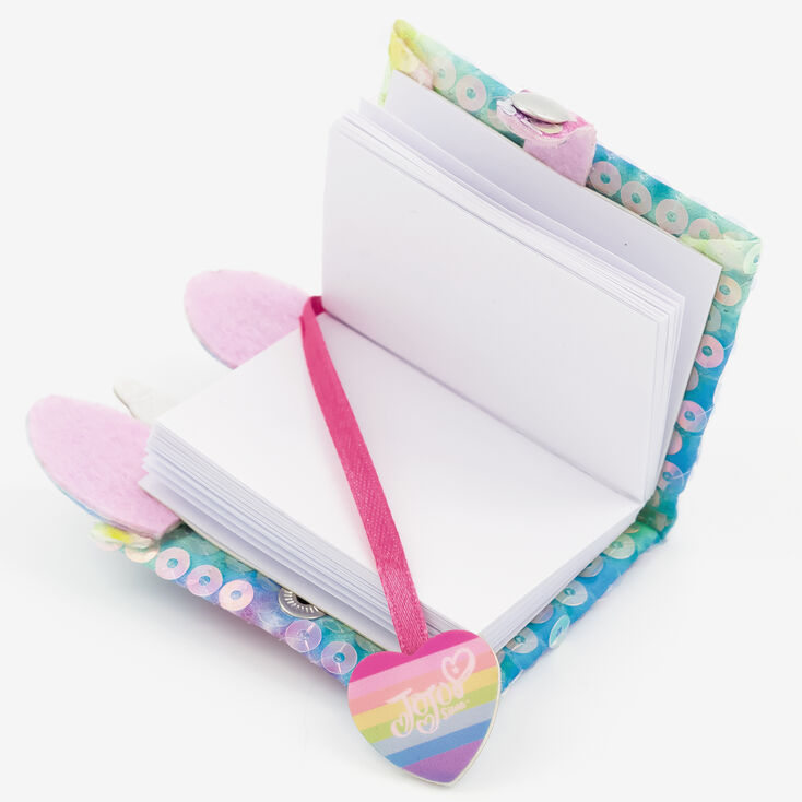Porte-clés mini journal intime licorne tie-dye JoJo Siwa™ - Arc-en-ciel,