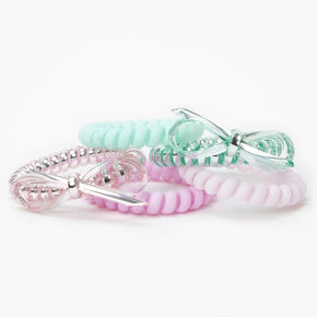 Pink Seashell Anklet and Pink Star Toe Ring Set,