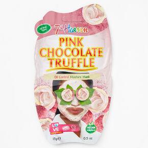 Masque hydratant peau grasse truffe au chocolat rose7thHeaven,