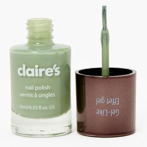 Gel-Like Nail Polish - Sage Green,