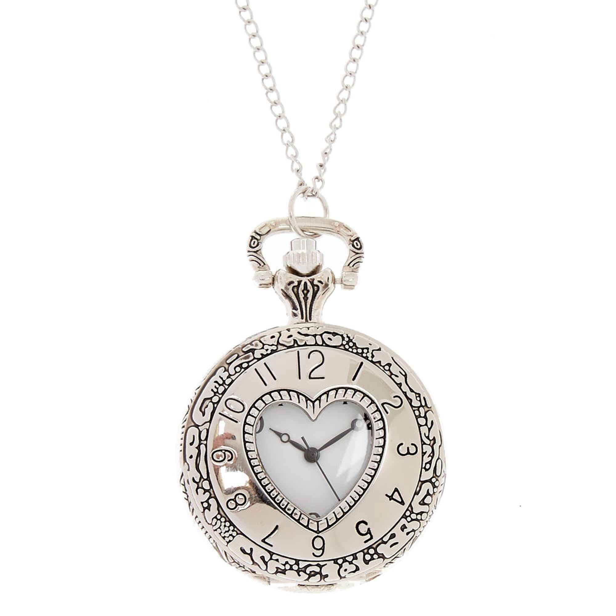 zoom pocket watch product largeimages res loading pdp hero blackheart pendant necklace celestial hi topic hot