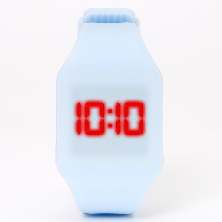 Pastel LED Watch - Blue,