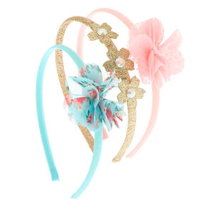 Claire's Club Floral Headbands - 3 Pack,