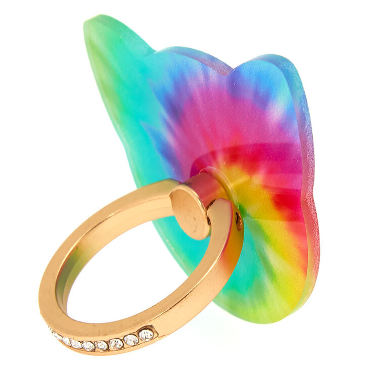 Tie-Dye Cat Ring Stand,