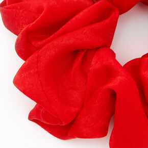 Giant Hair Scrunchie - Red,