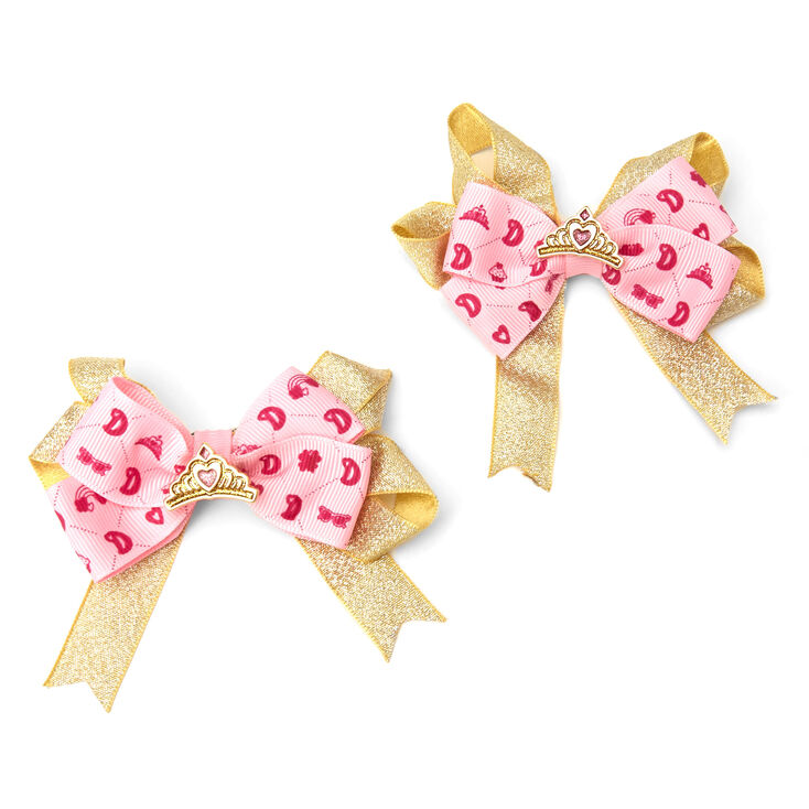 Love, Diana™ Cloth Face Mask and Hair Bows – Pink, Child Small,