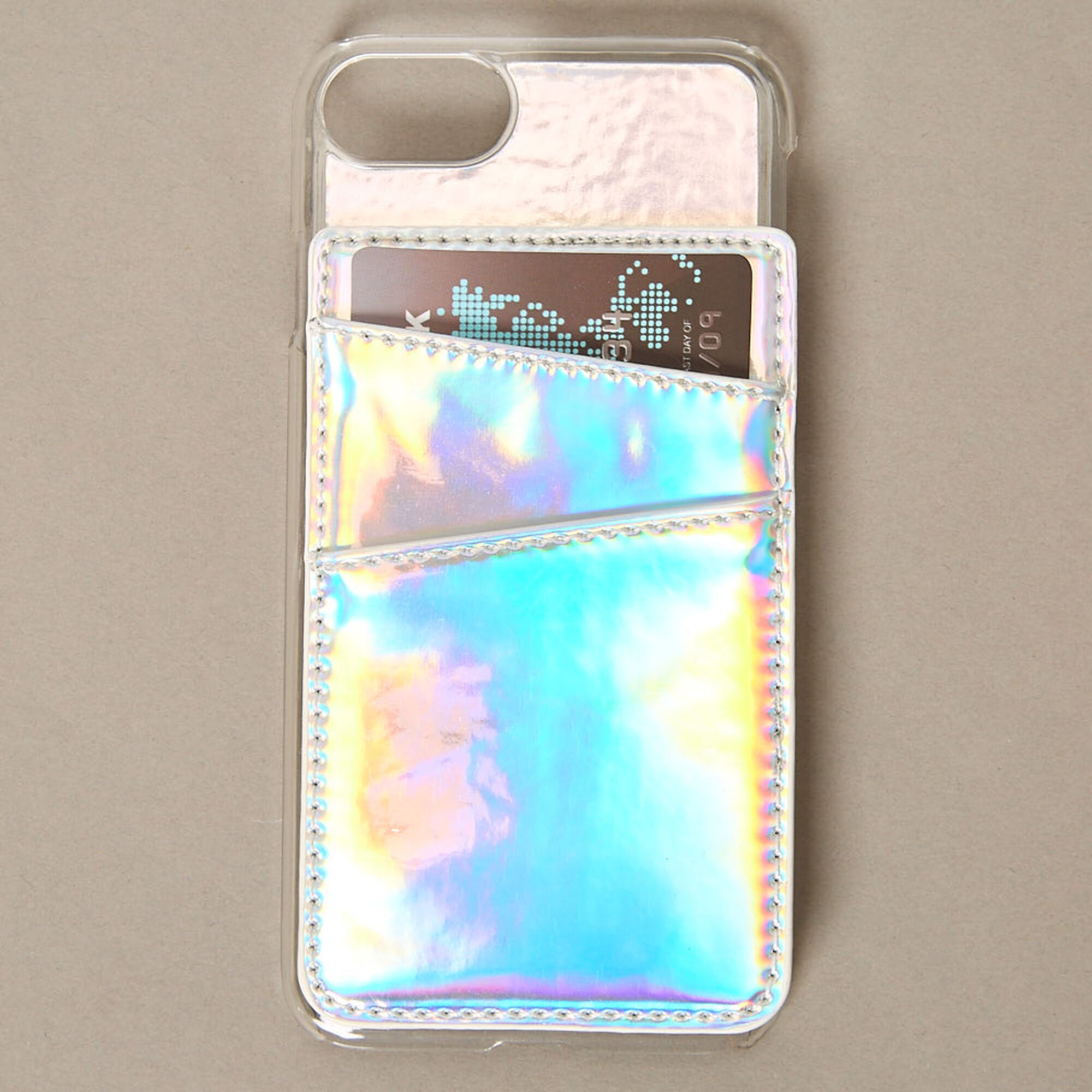 40a8fecd504 Holographic Card Holder Phone Case