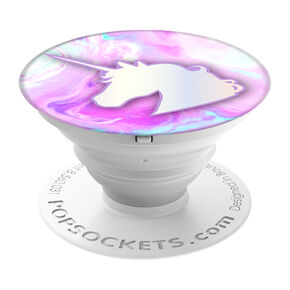PopSocket PopGrip interchangeable licorne effet marbré,