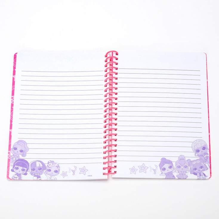 L.O.L Surprise!™ Pearl Spring Notebook – Purple,