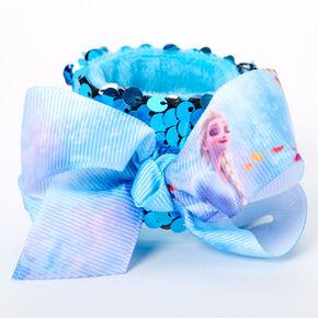 ©Disney Frozen Reversible Sequin Slap Bracelet - Blue,