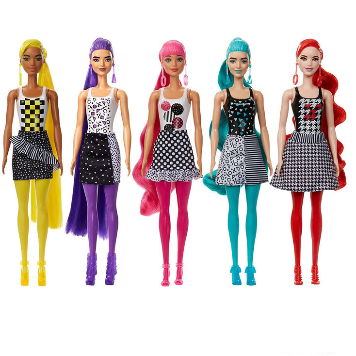 Barbie™ Monochrome Colour Reveal Doll Blind Box - Styles May Vary,