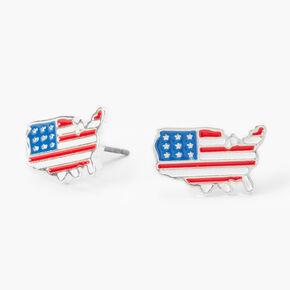 America Flag Stud Earrings,