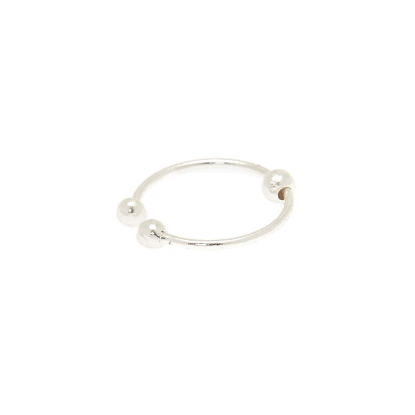 Claire's - sterling faux nose ring - 1