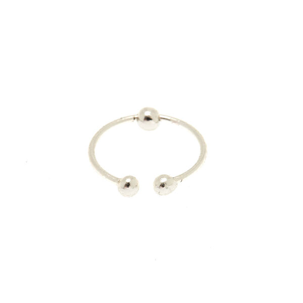 Claire's - sterling faux nose ring - 2