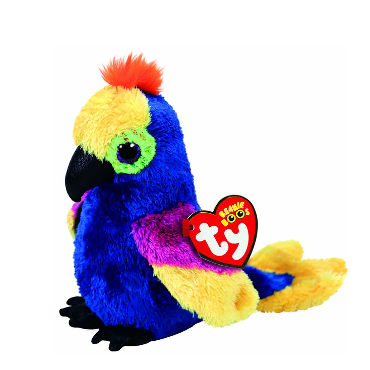 Small Toy Parrots : Ty beanie boo small wynnie the parrot plush toy claire s us