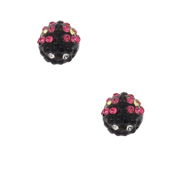 Claire's - ladybug magnetic stud earrings - 1