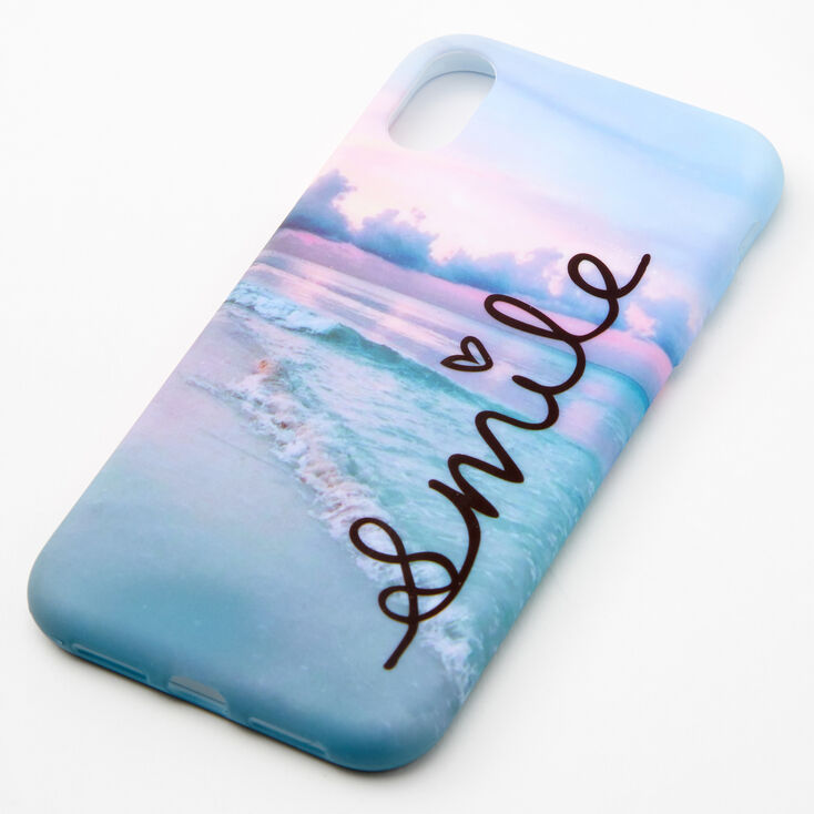 Smile Beach Phone Case - Fits iPhone XR,