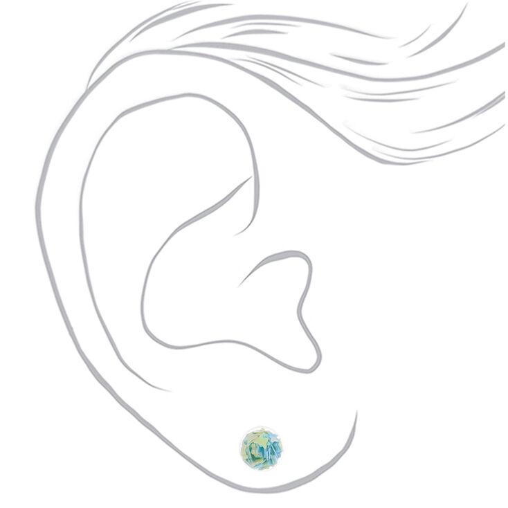 Confetti Shaker Stud Earrings - 3 Pack,