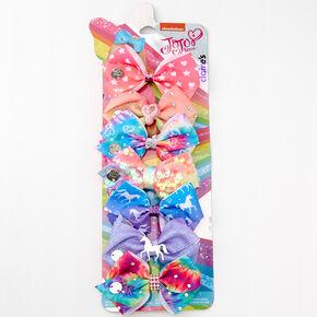 JoJo Siwa™ Mini Rainbow Hair Bows - 7 Pack,