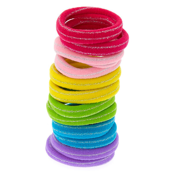 Claire's - club neon hair ties - 1