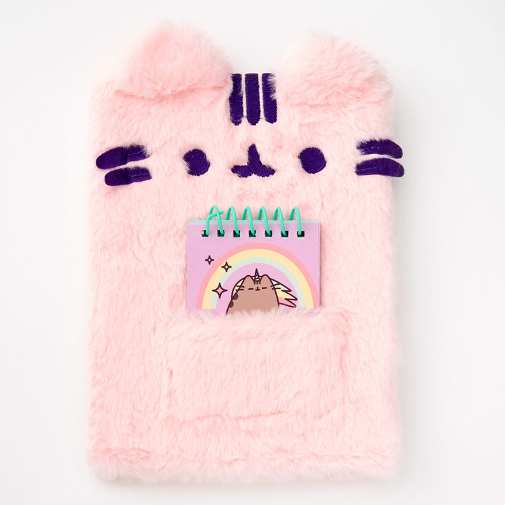 Pusheen® Furry Plush Diary,