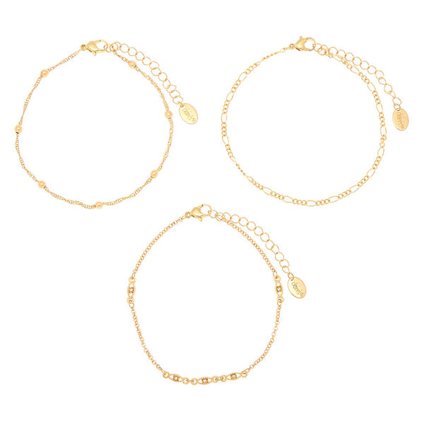 Claire's - mixed chain anklets - 2