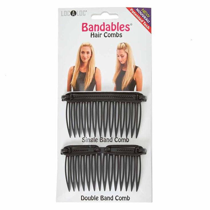 Peignes à cheveux Bandables LocALoc® - Lot de 2,