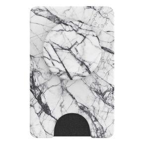 PopWallet+ Dove White Marble,