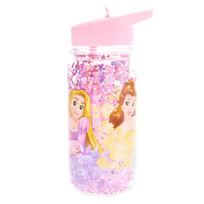 ©Disney Princess Glitter Water Bottle - Pink,