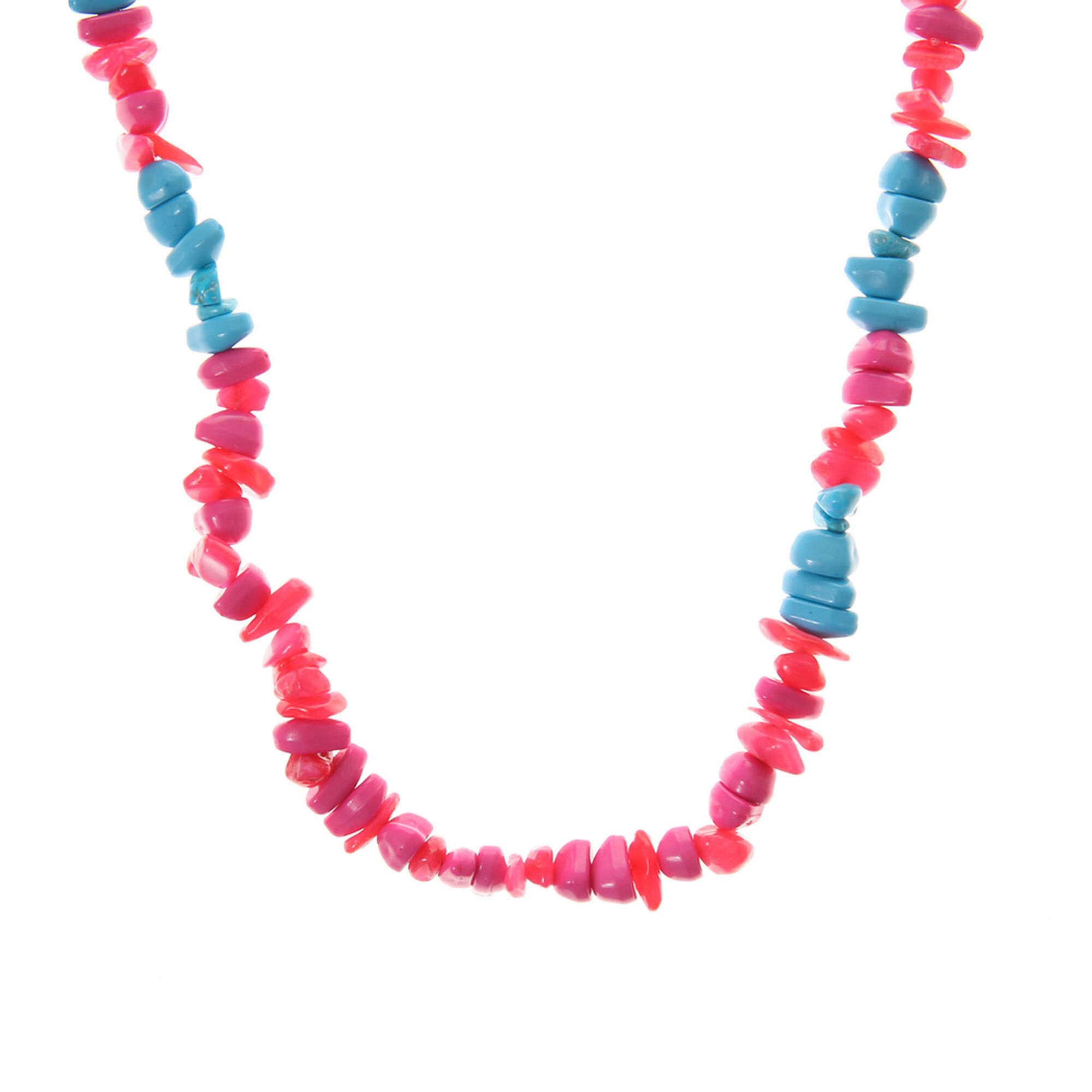 necklace the style simple products real talia pink in drop