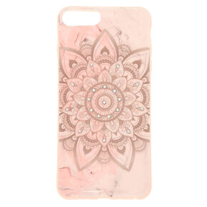 Marbled Mandala Phone Case - Fits iPhone 6/7/8 Plus,