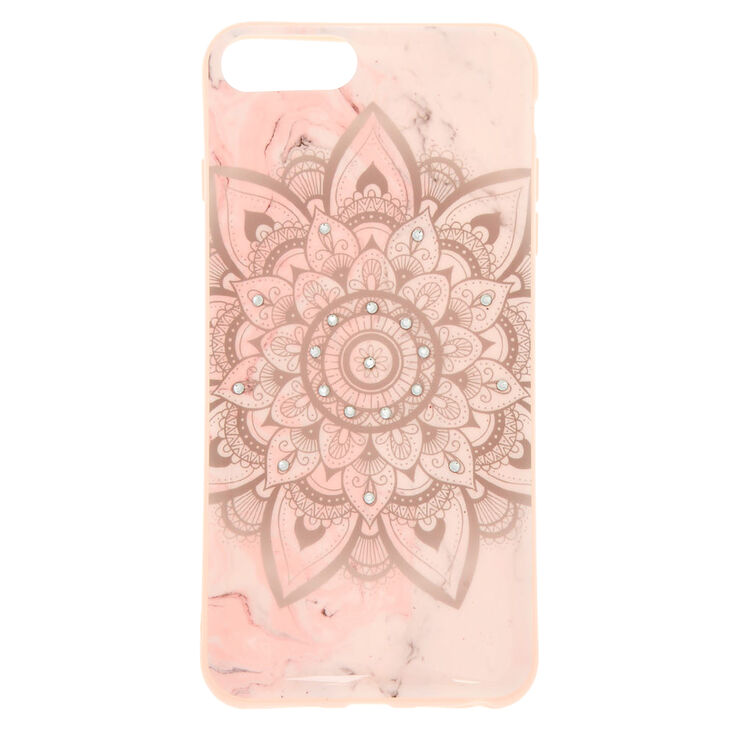 Marbled Mandala Phone Case - Fits iPhone 6/7/8 Plus,