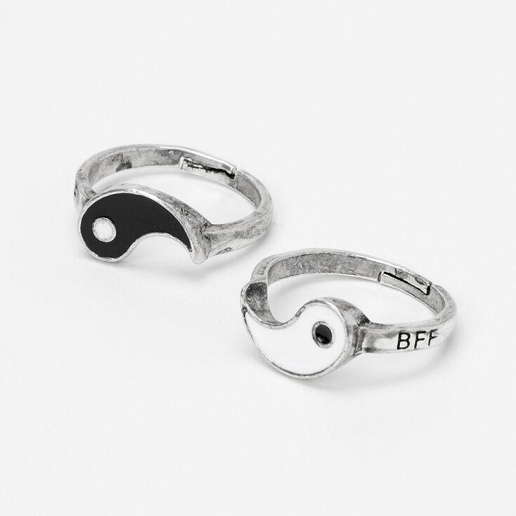 Best Friends Yin-Yang Rings - 2 Pack,