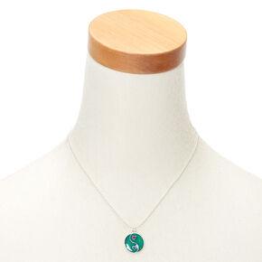 Silver Mood Yin Yang Pendant Necklace,