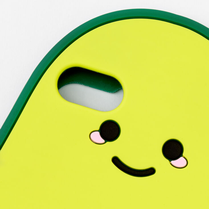 Smiling Avocado Silicone Phone Case - Fits iPhone 5,
