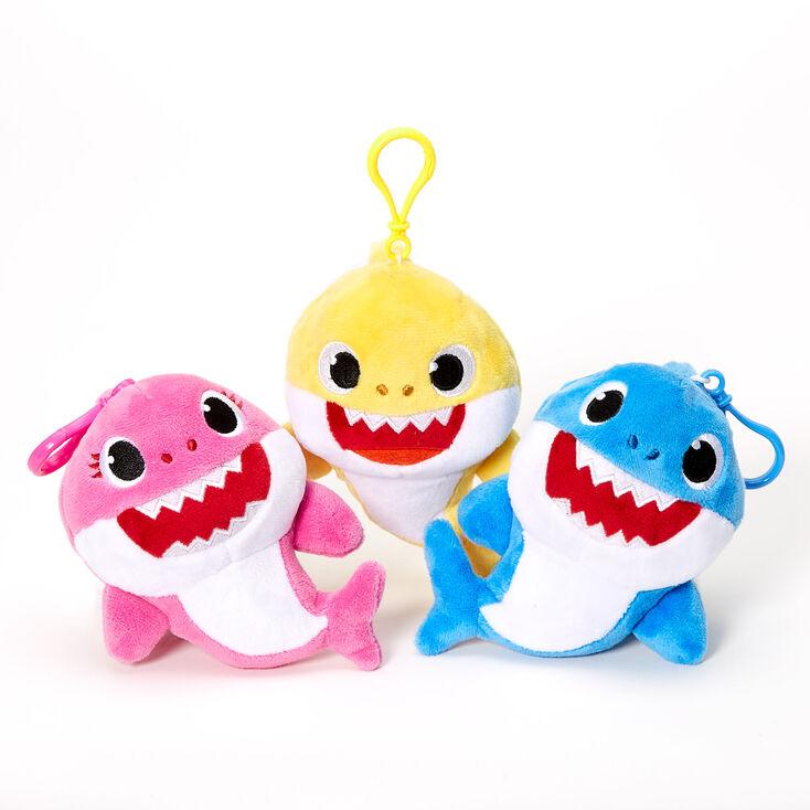 Baby Shark™ Plush Keyring Clip - Styles May Vary,