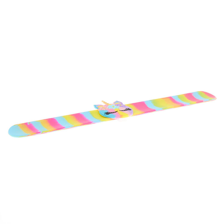 Rainbow Unicorn Slap Bracelet,